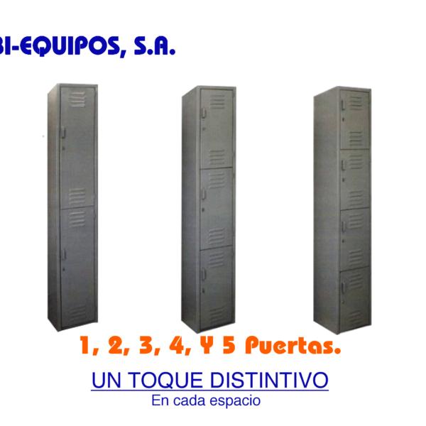 lockers verticales