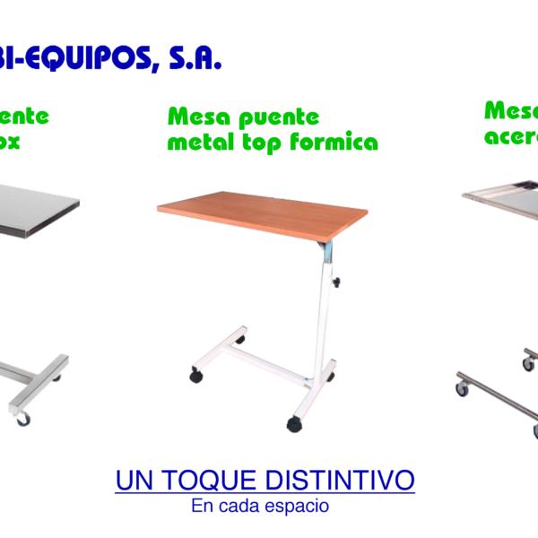 mesas hospitalarias