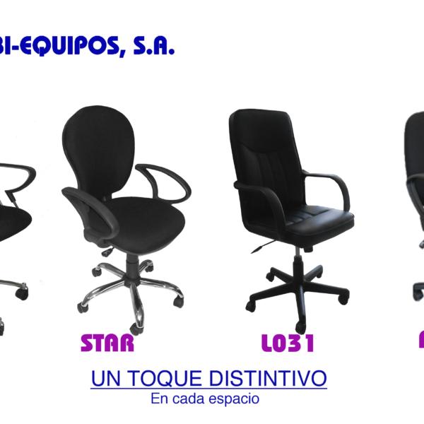 sillas semi ejecutivas
